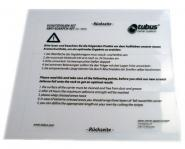 TUBUS Schutzfolien-Set, transparent