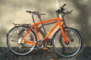 SOERGEL TR6061  Trekkingrad mit Deore-Ausstattung, leuchtrot,